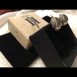 John Hardy Jewelry - John Hardy Sterling 18k Gold Dot Cuff Earclips